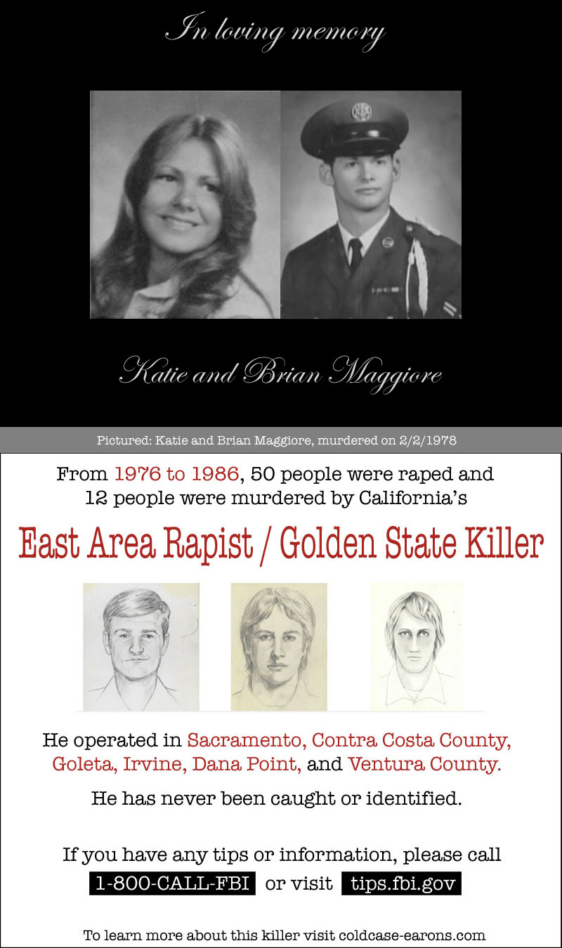 c3c61b6f4a26d Tribute to Katie and Brian Maggiore, murdered 40 years ago today ...